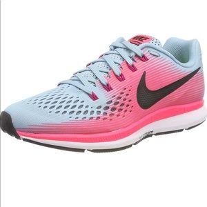 New Nike Pegasus 34 Running Shoes 11 pink blue